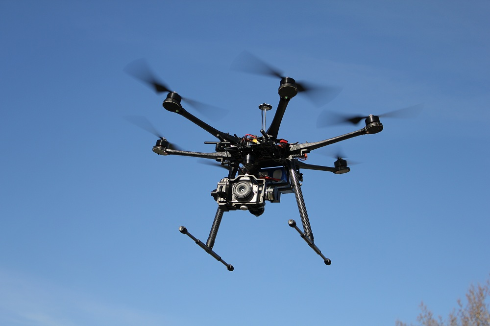 6 bladed hexacopter picture