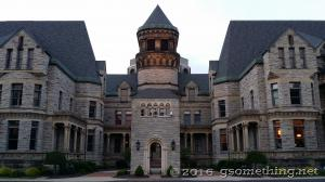 neat view of the Mansfield Reformatory