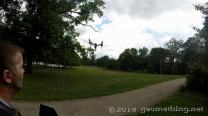aerial, drone, inspire 1, park