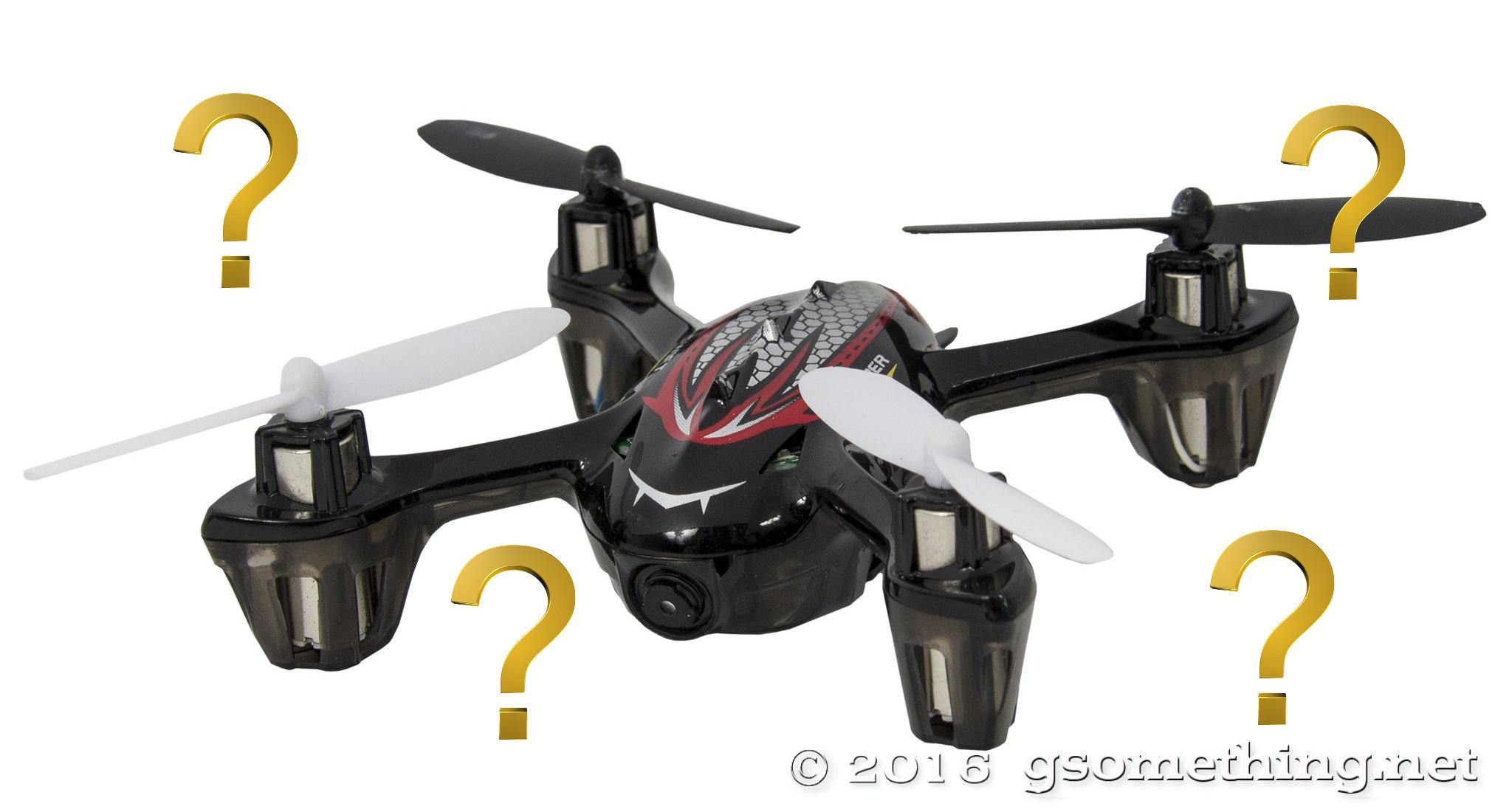 toy quadcopter